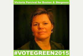 Victoria Percival - Green - Boston & Skegness